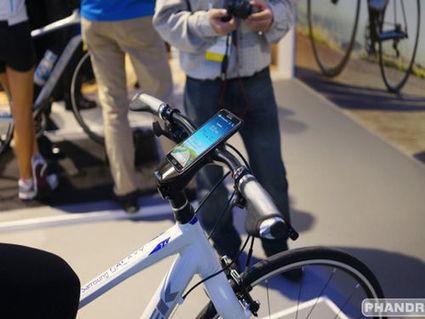 Un vélo avec dock et chargeur pour smartphone chez Samsung | Bilan Carbone et Mobilité | Scoop.it