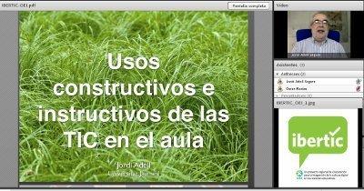 Jordi Adell: Usos Constructivos e instructivos de las TIC en el aula | En-red-ando | Scoop.it
