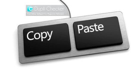 Duplichecker: Una manera sencilla de detectar el plagio | Educacion, ecologia y TIC | Scoop.it