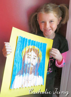True Presence In The Eucharist- Printable Craft For Catholic Kids   Resources for Catholic Faith Education   Scoop.it