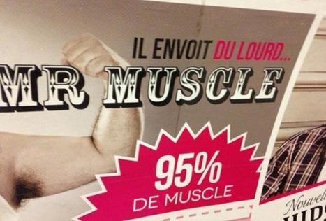 Les 10 pires fautes de français dans la publicité | Graphic design | Scoop.it