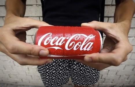 Coca-Cola invente la première canette à partager, au sens propre | Consommation et publicité télévisée | Scoop.it