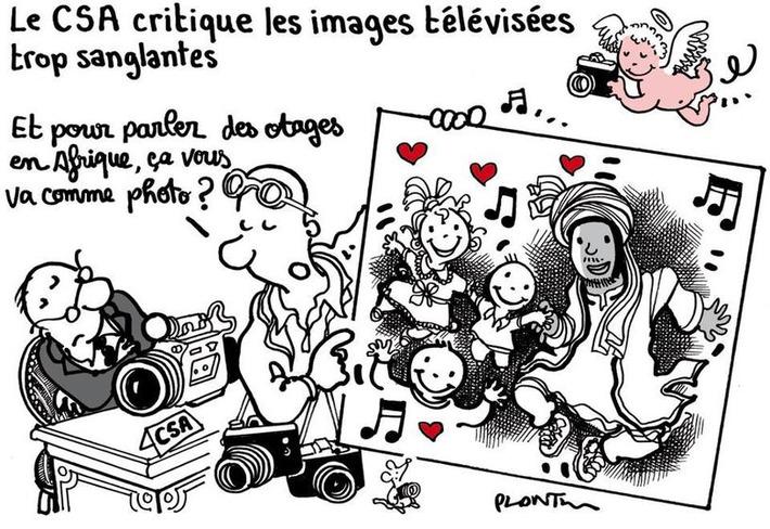 Le CSA critique les images de la télévision jugées trop sanglantes   Baie d'humour   Scoop.it