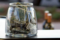 The thousand-dollar tip mystery | Strange days indeed... | Scoop.it
