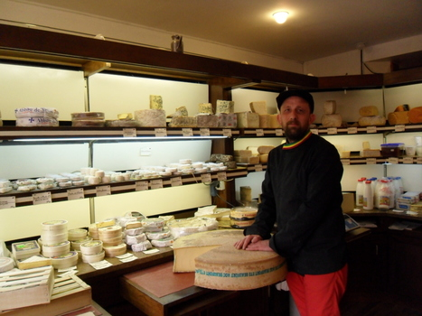 Paris : Rue Cadet, Stéphane Tabert et la passion du fromage | The Voice of Cheese | Scoop.it