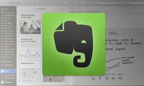 Evernote Mac : une mise à jour simplifie la navigation et le zoom sur les notes | Slice42 | Evernote, gestion de l'information numérique | Scoop.it