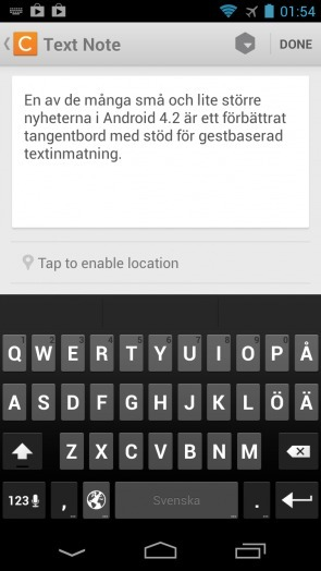 Test av tangentbordet i Android 4.2 Jelly Bean | Mobilt | Scoop.it