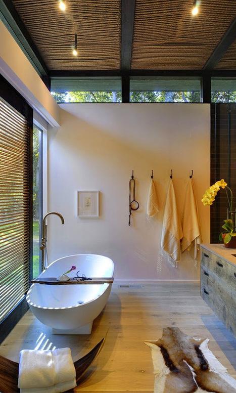 30 ideas de decoración para baños rústicos pequeños | MSV | Scoop.it