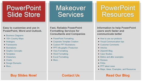 PowerPoint Slides, Templates, Diagrams & Fast PPT Formatting Services | Design Better PowerPoint Presentations | Scoop.it