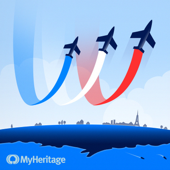 Bonne fête nationale à nos utilisateurs français ! - MyHeritage.fr - Blog francophone | Rhit Genealogie | Scoop.it