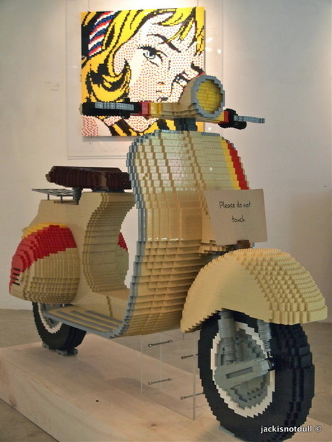 A LEGO Vespa, Yours For Just $22,000 | Vespa Stories | Scoop.it
