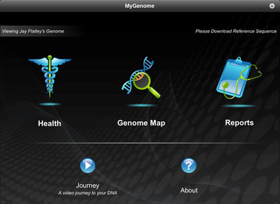 Illumina Launches MyGenome iPad App for Visualizing the Human Genome | Mobile Healthcare | Scoop.it