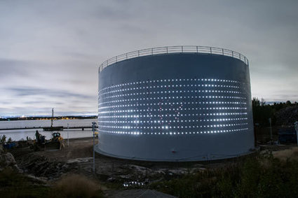 Urban Redevelopment & SILO 468: interactive light art at a reused silo in Helsinki | Social Mercor | Scoop.it