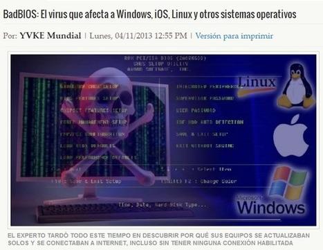 BadBIOS: El virus que afecta a Windows, iOS, Linux y otros sistemas operativos | Sistemas operativos en red | Scoop.it