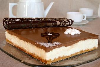 Entremet vanille-chocolat   Desserts et douceurs du monde   Scoop.it