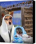 Happy Hanukkah -3 Digital Art by Kathy Tarochione - Happy Hanukkah -3 Fine Art Prints and Posters for Sale | The Canine Community Reporters  News | Scoop.it