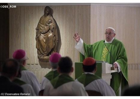 Ranná homília pápeža Františka: Aj dnes Boh plače nad kalamitami a vojnami | Správy Výveska | Scoop.it
