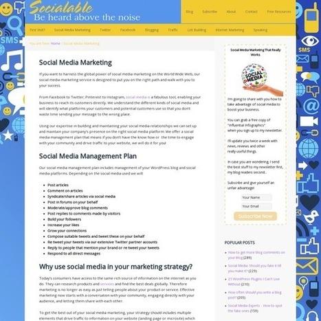 Social Media Marketing   Everything Digital   Scoop.it