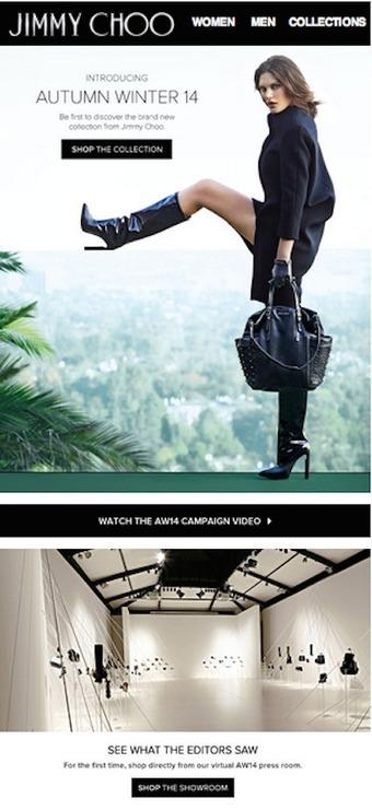 Jimmy Choo creates virtual showroom to enhance perorder experience - Luxury Daily - Internet | ma veille | Scoop.it