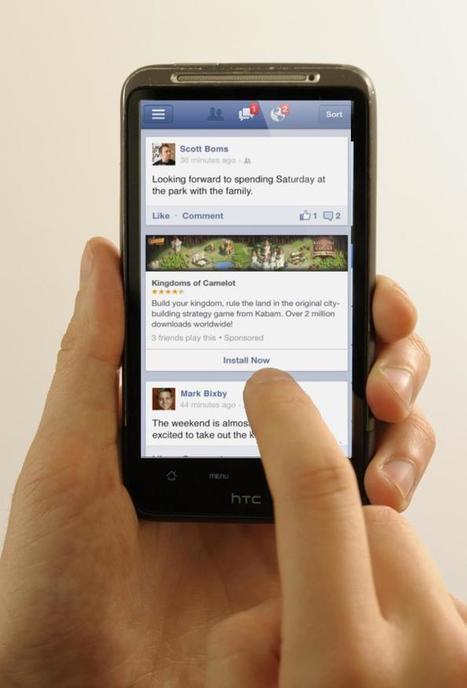 82% des revenus publicitaires de Facebook sont issus du mobile ! | Tech earthling | Scoop.it