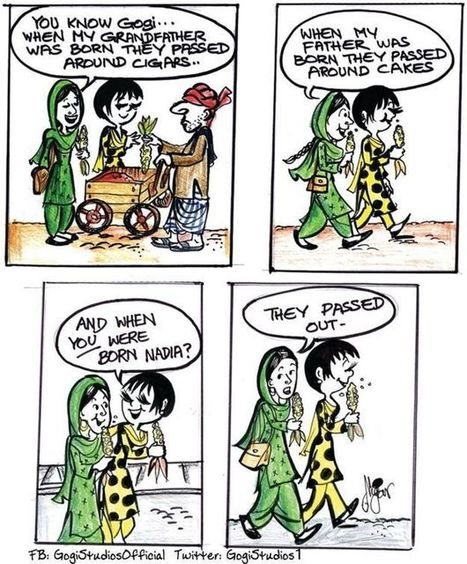 #Gogi , the #heroine #created by #Pakistan 's first #female #cartoonist  @barkinet #bbc #fb  | Me&Ubuntu | Scoop.it