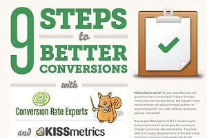 Nine Steps to Better Conversions [Infographic] | Beyond Marketing | Scoop.it