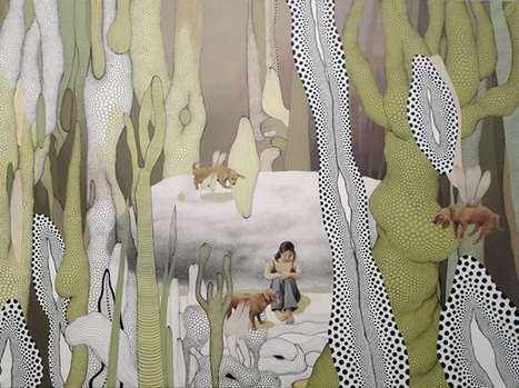 The Bizarre, Surreal Worlds of Painter Jung-Yeon Min | Culture and Fun - Art | Scoop.it