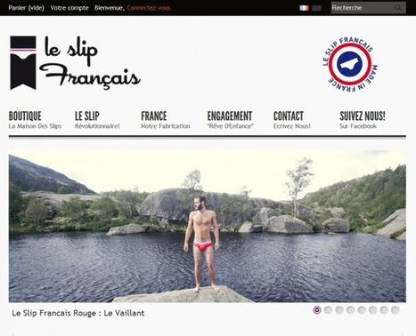 » Témoignage de e-commerçant – Guillaume de la boutique Le Slip Français - Wizishop Blog Ecommerce   Veille internet   Scoop.it
