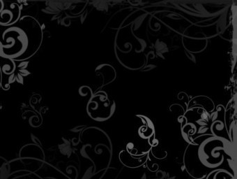 Floral black wood PPT Backgrounds | Free PowerPoint Backgrounds | Scoop.it