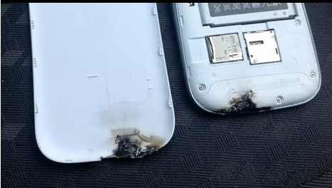 Mystery Of Burned Galaxy S III Issue -   Opinion Of Androite | AndroidTuition | Scoop.it