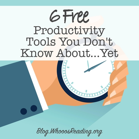 6 Free Productivity Tools You Probably Haven't Heard Of | Serious Play | Scoop.it