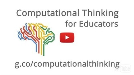 Computational Thinking for Educators - Course | eTEL | Scoop.it