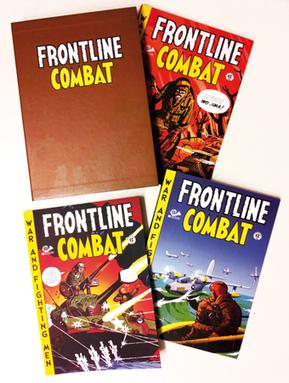 Cofanetto Frontline Combat – 3 volumi | 001 Edizioni Shop | 001 Edizioni | Scoop.it