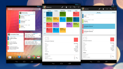 Timetable Is a Personal Organizer Designed for Students | Educational Technology - Yeshiva Edition | Scoop.it