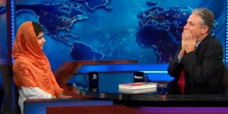 This Guest Made Jon Stewart's Jaw Drop | innovative approaches to teaching adults | Scoop.it