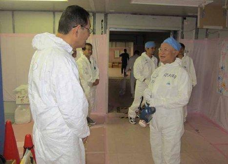 [Photos] M. Amano, directeur de l'AIEA en visite à Fukushima le 25/07/2011  - Tepco - juillet 2011 | Facebook | Japon : séisme, tsunami & conséquences | Scoop.it