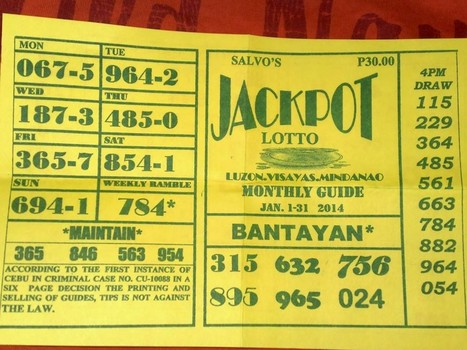 OCT 01, 2015 HOW TO WIN PHILIPPINE SWERTRES LOTTO — Philippine PCSO Results | Philippine PCSO Results | Scoop.it