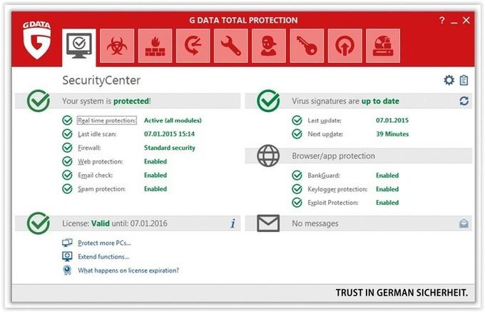 CONCURS: Câștigă 6 licențe G Data Total Protection 2016 - PROGRAME GRATUITE PC