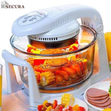 Secura Digital Halogen Infrared Turbo Convection Countertop Oven ... | Infrared Ovens | Scoop.it
