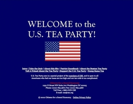 Study Confirms Tea Party Was Created by Big Tobacco and Billionaires | Stop David Koch Campaign | Scoop.it