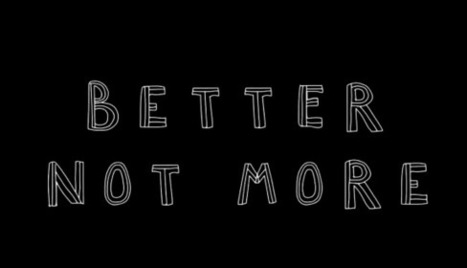Better, Not More -- aka Buen Vivir | Peer2Politics | Scoop.it