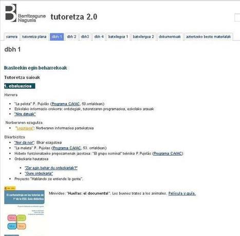 Tutoretza 2.0: sitesetarako txantiloia | Google tresnak | Scoop.it