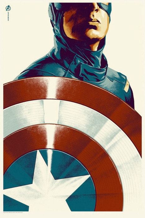 Mondo's 'Avengers' Posters: Thor, Iron Man, Hulk & Captain America | FirstShowing.net | Browsing around | Scoop.it