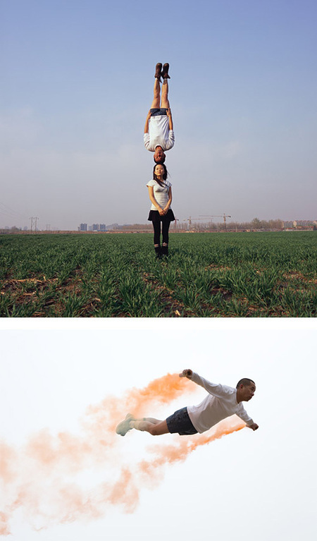 Impossible Photos by Li Wei | Inspiration Grid | Design Inspiration | scooped by collectivo | Scoop.it