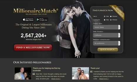 Millionaire online dating