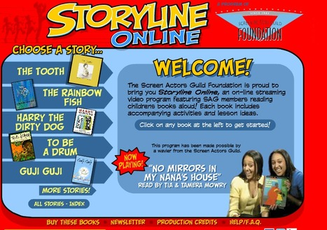 Storyline Online | HCS Books and Reading | Scoop.it
