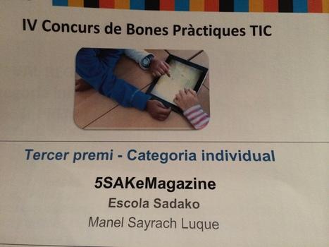 5SAK – 3r premi al Concurs Bones Pràctiques TIC   2puntZero...   TIC a l'escola   Scoop.it