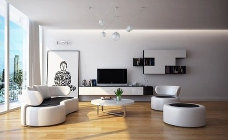 Get modern comfort and timeless beauty for living room decor | Designinggal | interior design inspirations | Scoop.it