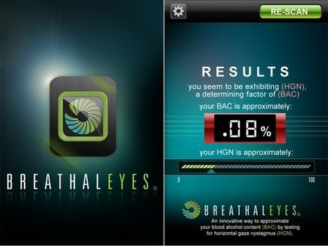 Before You Head Out To The Party, Equip Your iPhone With BreathalEyes | iPad Sammy's Pinterest Page | Scoop.it