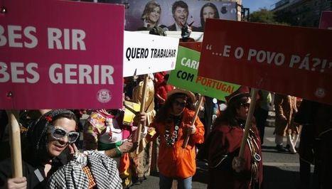 Nombreuses manifestations contre l'austérité au Portugal | Union Européenne, une construction dans la tourmente | Scoop.it